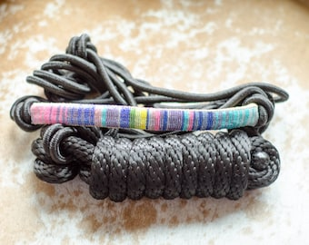 Serape Beaded Rope Halter