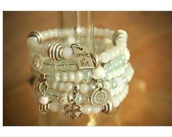 Wrap Bracelet-Charm bracelet