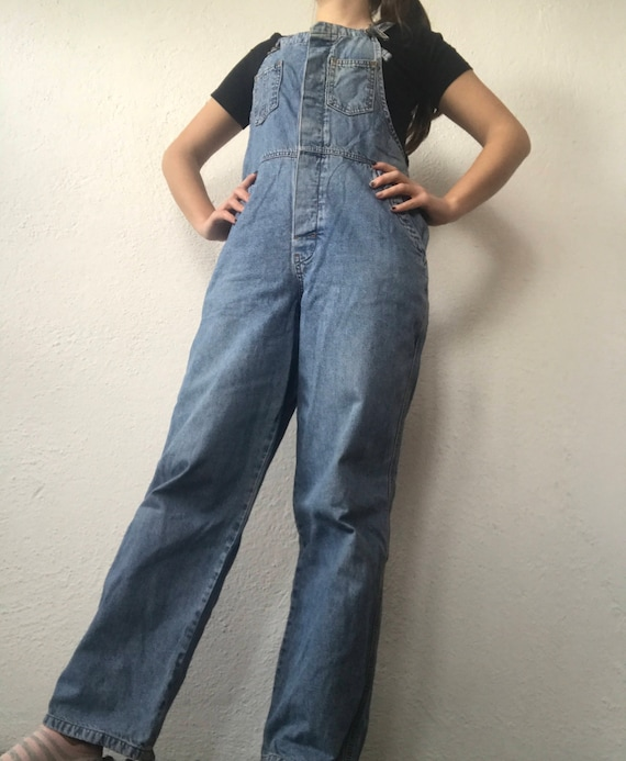 Denim Overalls, Denim Jumpsuit, Vintage Overalls,