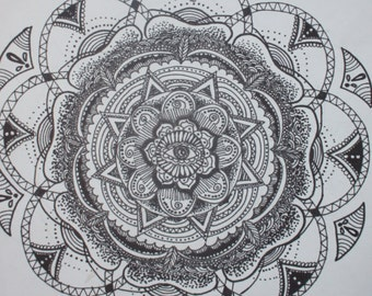 Mandala Art Poster Art Sacred geometry