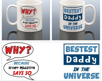 best daddy mug best dad christmas gift daddy birthday gift personalised daddy christmas present best dad cup best daddy in the universe - Best Christmas Presents For Dad