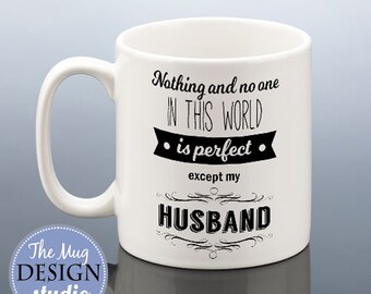 Perfect Husband Mug Best Birthday Gift Anniversary Cup Wedding Hubby Present Husbands