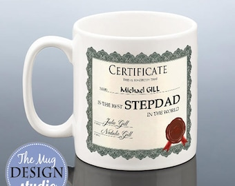 best stepdad mug personalised stepdad christmas gift stepdad birthday mug best step dad cup stepfather christmas present stepdad coffee mug