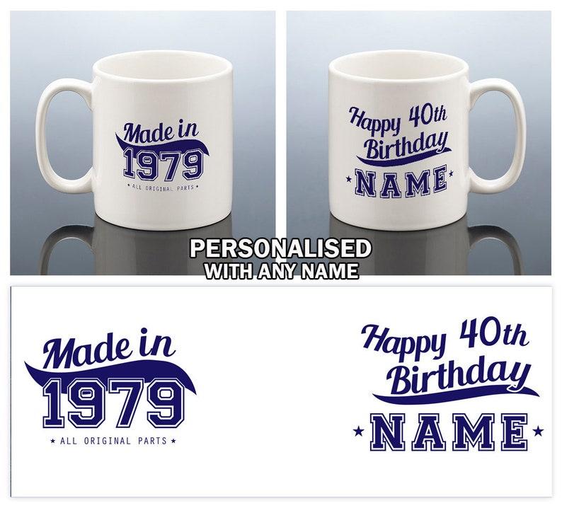 40th Birthday Mug For Men Gift Him