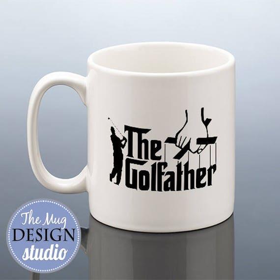 THE GOLFATHER Mug Golf Birthday Gift For Him Golfing
