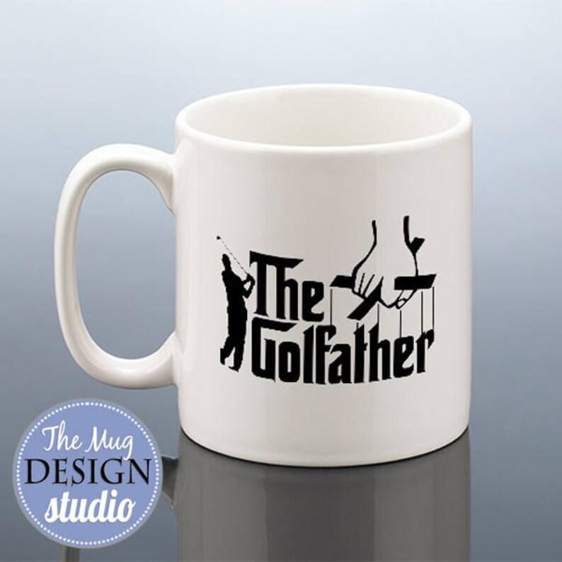 image 0 ... & THE GOLFATHER Mug Golf Birthday Gift for Him Golfing Gift | Etsy
