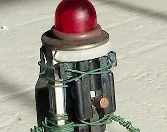Robot Sculpture- Flashlight