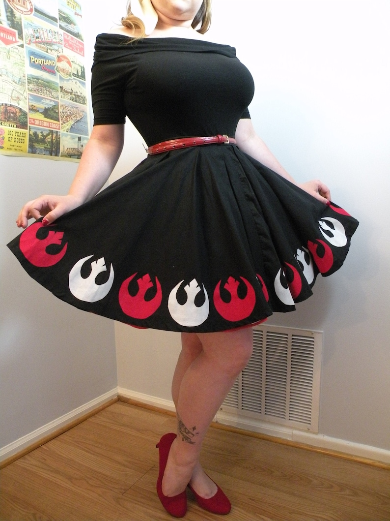 Lady of the Rebellion Circle Skirt