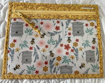 Honey Bee Project Bag