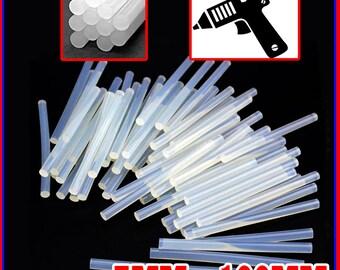 463 Mini Hot Glue Gun Sticks Melt Clear Craft Heating Adhesive Wholesale Lot