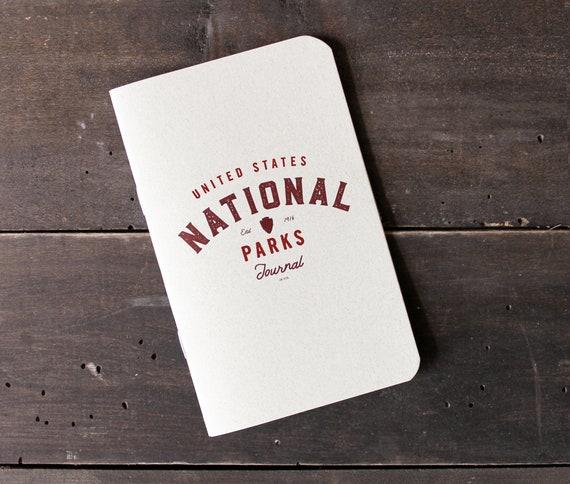 U.S. National Parks Journal by JOT. Books  National Park