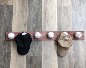 9a9c5fe44e6 baseball hat hanger rack