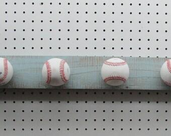 04e666e64d4 Baseball hat hanger rack blue