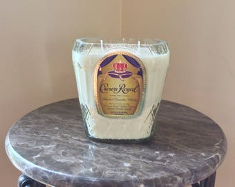 Crown Royal Canadian Whiskey Bottle Candle