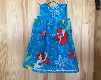 Dancing Arial the little mermaid dress for American girl doll and other 18 inch dolls