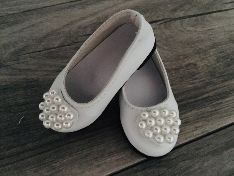 7d930381b8747 American girl doll shoes ~ 18 inch doll shoes ~ granddaughter gift ~ white  doll shoes ~ ag doll shoes ~ Aesthetic clothing