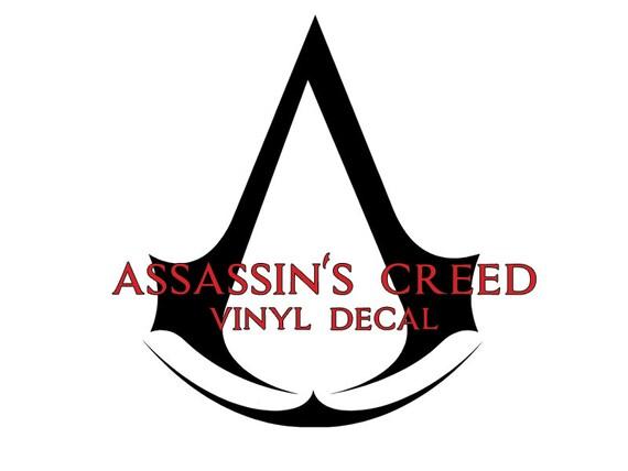 Assassins Creed Logo Vinyl Decal Etsy