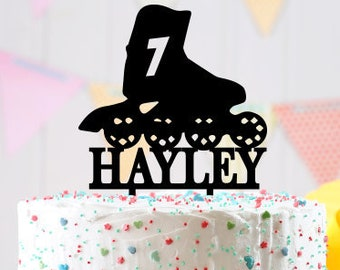 Personalized birthday Cake Topper, Cake Topper, custom birthday cake topper, birthday decoration, customizable kids birthday cake topper