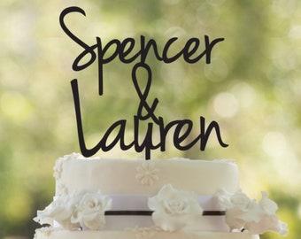 Wedding cake topper, wedding cake topper, custom wedding cake topper, Lettering Wedding Cake Topper, customizable wedding cake topper