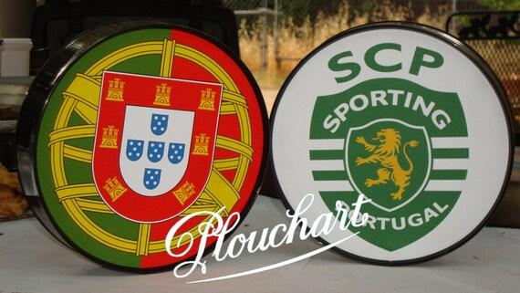 Portugal Sporting Club Logo Poster Etsy