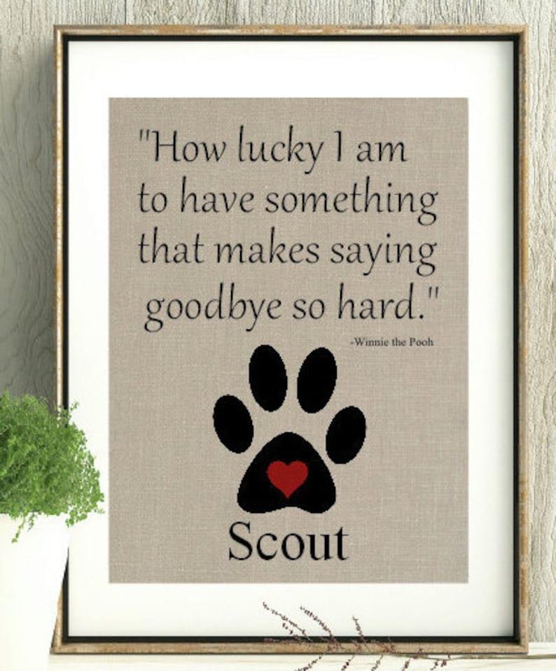 Loss Of Pet >> Loss Of Pet Pet Memorial Death Of Pet Life Of Pet Memorial Pooh Quote Rainbow Bridge Loss Of Pet Gift Sympathy Gift Pet Death Of Dog