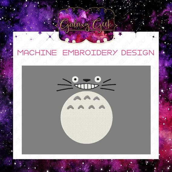 Totoro Embroidery Design Machine Embroidery Design Studio