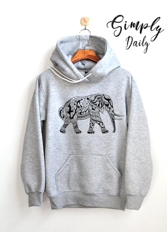 f6ff65288ba48 Elephant Hoodie Elephant graphic Shirt Adventure Shirt Hoodie High Quality  Super Soft Unisex