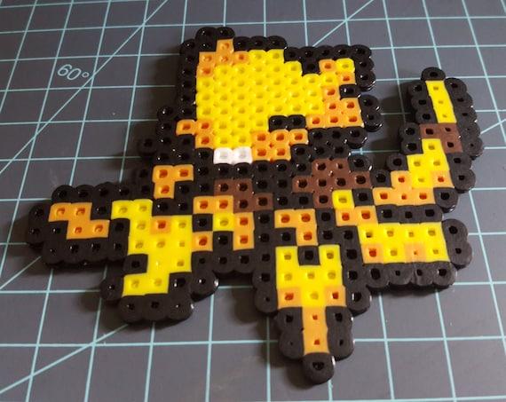 Tricksy Little Thing - Pokemon, Abra, pixel art, pearler beads