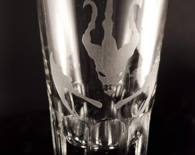 Thresh large shot glass | Hand Engraved | Free Personalization