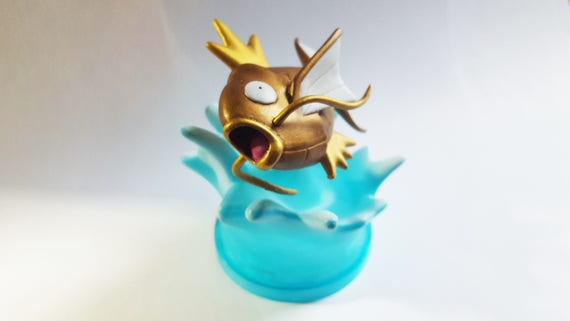 Shiny Magikarp Statue | Pokemon | Custom Repaint | Hand Painted