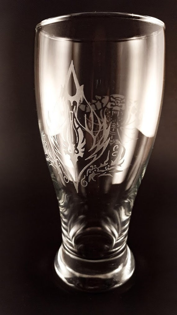 World of Warcraft | Character glass | Hand Engraved | Free Personalization