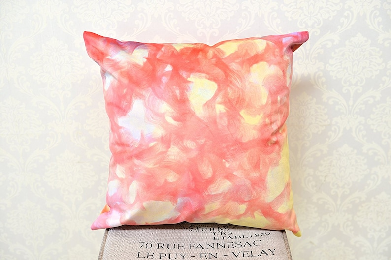 AAYU Square Pillow Covers 18x18 inch Velvet Base Soft Fabric Pack of 4 Trendy Pattern Printing on Both Sides