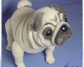 Baby Pug Dog amigurumi pattern | Baby pugs, Baby pug dog ... | 270x340