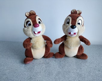 DISNEY PLUSH DOLL BEANS COLLECTION CHIP N DALE CLARICE TA24696