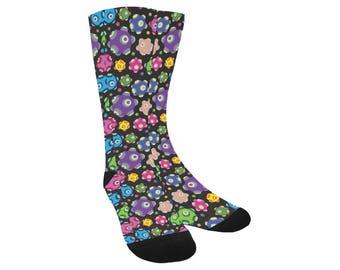 Rolling Socks - Katamari Socks Katamari Cousins Socks Katamari Damacy Socks Video Game Socks Ichigo Dipp Trouser Socks
