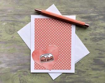 Funny Valentines Day Card - Funny Valentines Day Card for Him - Pun Valentines Day Card - Funny Love Card - Funny Valentine Card - Nice Buns