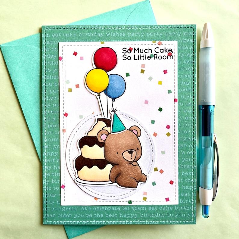 Bear Birthday Card Bear Card Bear Pun Pun Birthday Card Etsy