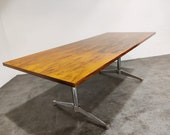 Charles Ray Eames dining table or conference table 1960s - vintage eames table - vintage eames desk - vintage dining table