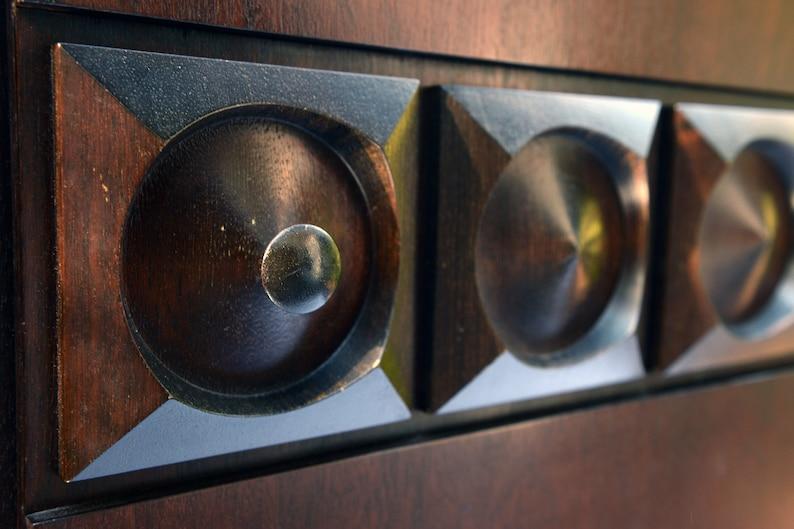 vintage bras cabinet 1970s mid century brutalist bar cabinet mid century modern oak bar cabinet Brutalist bar cabinet
