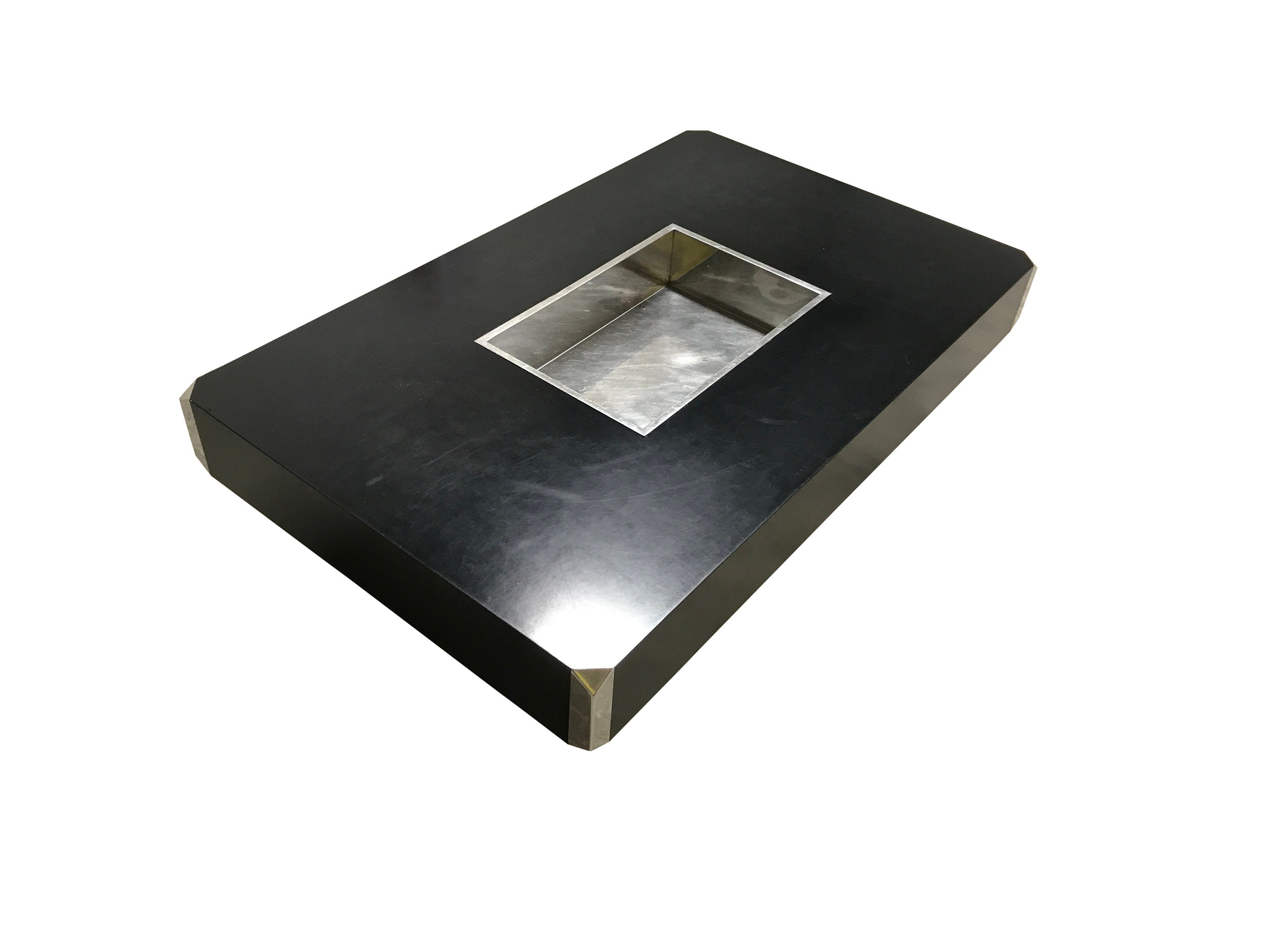 Willy Rizzo Coffee Table.Black Alveo Coffee Table By Willy Rizzo 1970s Willy Rizzo Coffee Table Hollywood Regency Coffee Table Vintage Coffee Table