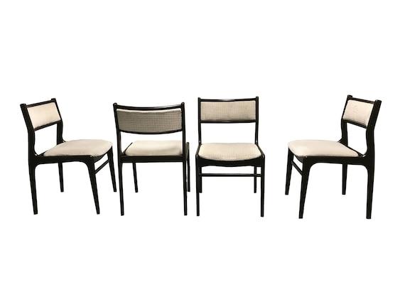 Skandinavischen Mitte Jahrhundert Esszimmerstühle 1960 Set | Etsy