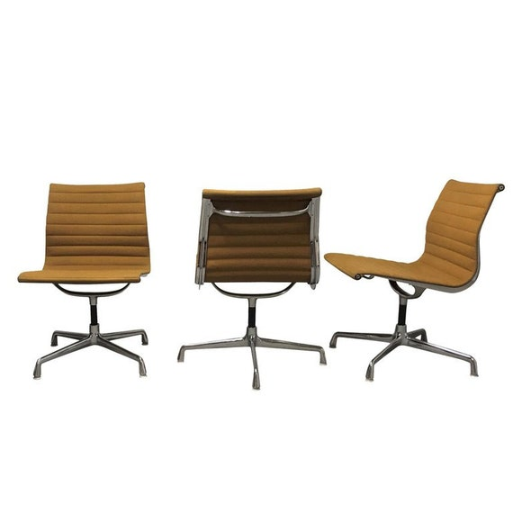 Artifort Bureaustoel Vintage.Vintage Eames Desk Chair Ea108 For Herman Miller Yellow Etsy