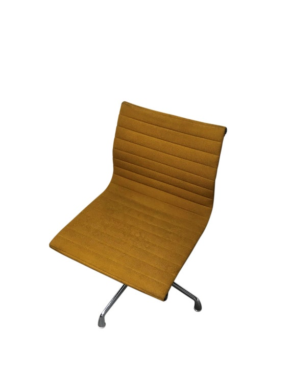 Vintage Eames Desk Chair EA108 For Herman Miller, Yellow, 1970s   Vintage  Conference Chairs   Yellow Eames Chair   Charles U0026 Ray Eames
