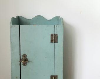 Darling Vintage Doll Wardobe or Cabinet