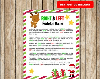 Left right game | Etsy