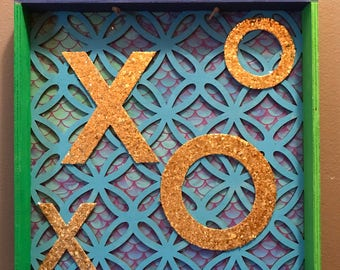 XO Mermaid Wall Hanging