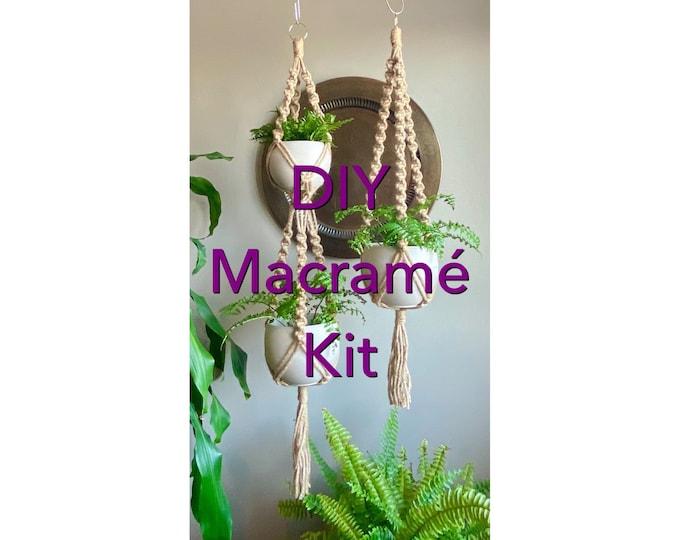 Macramé DIY & SUPPLIES