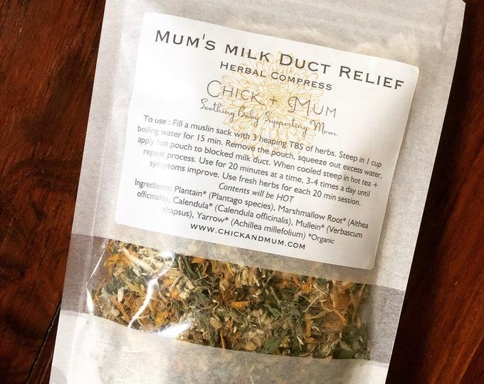 Mum's Milk Duct Relief