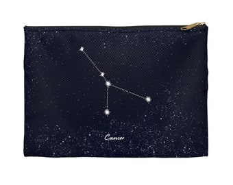 Cancer Constellation Accessory Pouch