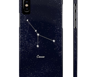 Cancer Constellation Case Mate Slim Phone Cases For Iphone And Samsung